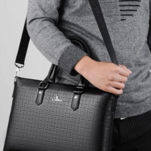 Men Vintage Multifunction Waterproof Laptop Bags Briefcases Shoulder Bag Handbag discountshub
