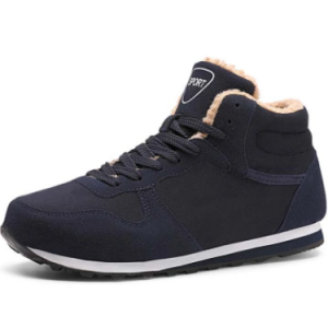 Men Warm Lining Lace-Up Outdoor Casual Ankle Boots discountshub