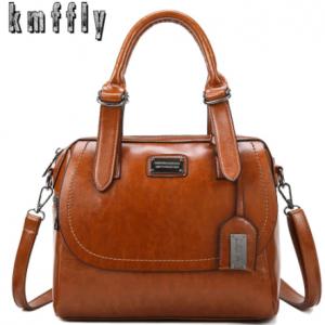 New luxury handbags women bags designer pu leather handbag fashion crossbody bags for women 2020 new shoulder bag bolsa feminina discountshub