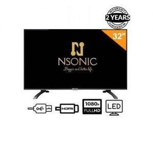 """Nsonic 32"""" Led Hd TV - Black discountshub"""