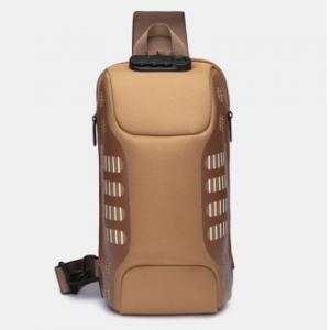 Oxford Waterproof Large Capacity Multi-layers Chest Bag Crossbody Bag discountshub
