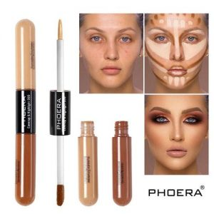 Phoera Cruelty-Free Face Contour And Highlighter Makeup discountshub