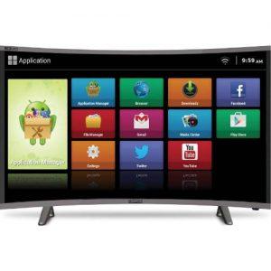 """Polystar 32"""" Smart Curved Full HD LED TV With Netflix discountshub"""