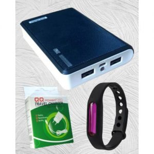 Power Bank 40,000mAh With Fast Android Charger & Mosquito Repellent Wristband discountshub