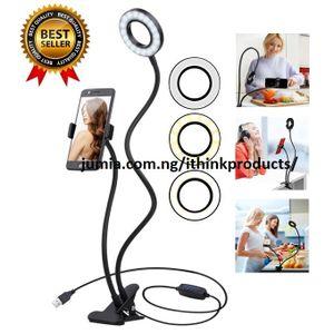 Selfie Ring Light Cell Phone Holder Selfie Light For Phones discountshub