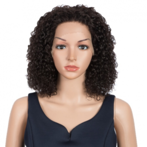 Trueme Short Curly Bob Lace Front Wigs Brazilian Water Wave Lace Front Human Hair Wigs For Women Remy Wet And Way Lace Bob Wig discountshub