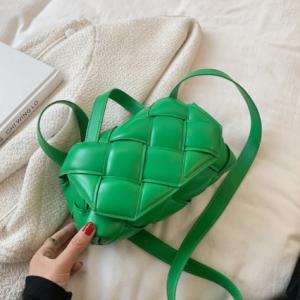 Woven Square Tote bag 2021 Fashion New High-quality PU Leather Women's Designer Handbag Luxury brand Shoulder Messenger Bag discountshub